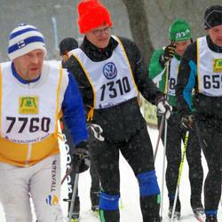 Skiing 90 km - Erik Johnsson (7310), Jan-Ole Österback (7760)