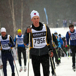 Skiing 90 km - Christian Magnusson (7066), Daniel Andersson (7956)