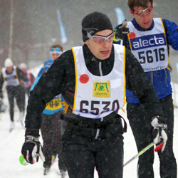 Skiing 90 km - Fredrik Unger (5616), Niclas Årman (6530)