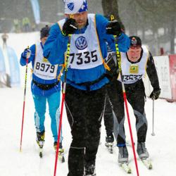 Skiing 90 km - Björn Skårman (7335), Ulrich Maurer (8979)