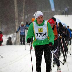 Skiing 90 km - Christian Fjelstrup (7704)