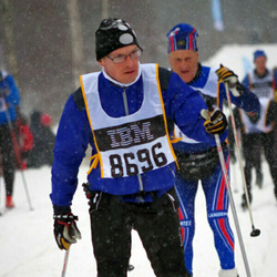 Skiing 90 km - Dick Hansson (8696)