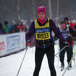 Skiing 90 km - Jennie Almén (18933)