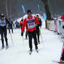 Skiing 90 km - Anders Persson (8142)