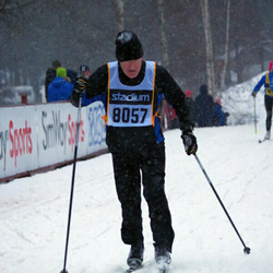 Skiing 90 km - Anders Hellman (8057)