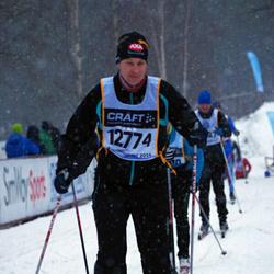 Skiing 90 km - Dennis Rupertsson (12774)