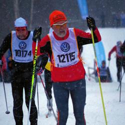 Skiing 90 km - Bjarne Sörum (10174), Volkov Sergey (12115)