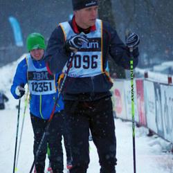 Skiing 90 km - Henrik Richter (8096)