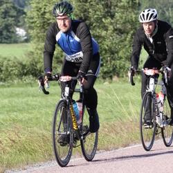 Vätternrundan - Anders Börjesson (5984), Viktor Allgurén (5985)