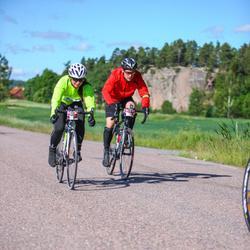 Vätternrundan - Mika Nilsson (8647), Alexander Hansson (8648)
