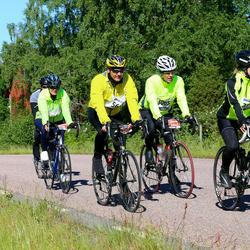 Vätternrundan - Mikaela Olofsson (3846), Christer Backman (5065), Jörgen Käll (5687)