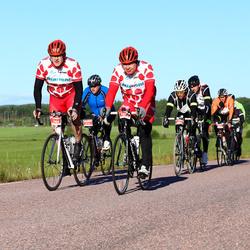 Vätternrundan - Henrik Sieg Christiansen (5969), Jan Meyerhoff (6731), Jens Krook (7964), Tomas Widberg (7975)