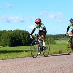 Vätternrundan - Malin Andersson (4031), Jens Andersson (4032)
