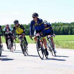 Vätternrundan - Mathias Johansson (24903), Lennart Sandelin (25052), Sebastian Andersson (25095), Tobias Fröjdlund (25100), Fredrik Thid (25114)
