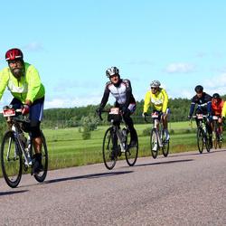 Vätternrundan - Fredrik Måntjärn (4359), Siegfried Hoffmann (8244), Olaf Heymuth (8245), Gustaf Lönn (8294)