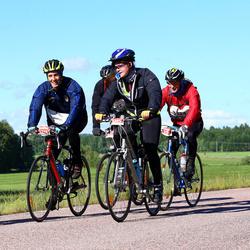Vätternrundan - Jeff Meurling (3223), Michael Svensson (3224), Matilda Flygt (3225)