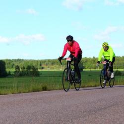 Vätternrundan - Malin Larsson (3459), Christian Jarlgård (3802)