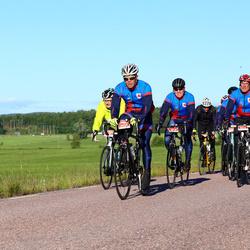 Vätternrundan - Eddie Olsson (3934), Morgan Persson (3935), Dennie Börjesson (3936)