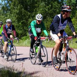Vätternrundan - Erich Garrelds (6740), Douglas Eriksson (13474), Thomas Karlsson (16081), Daniel Hamberg (17443), Johan Bennbäck (17444)