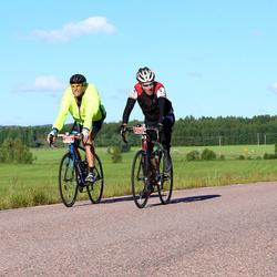 Vätternrundan - Peter Vilsson (8532), Åke Jerlenius (8536)