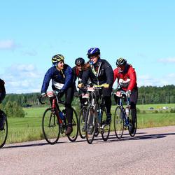 Vätternrundan - Jonas Eriksson (3222), Jeff Meurling (3223), Michael Svensson (3224), Matilda Flygt (3225)