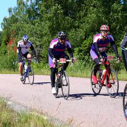 Vätternrundan - Nils Johansson (10489), Ali Ranji (10493), Frank Gustafsson (20081)