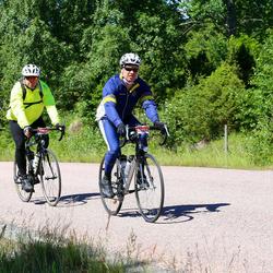 Vätternrundan - Fredrik Kvarnström (10891), Benny Elfrid (10892)