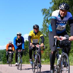 Vätternrundan - Tim Rosendahl (7472), Peter Åberg (7709), Henrik Bäckström (7710), Daniel Valtersson (10786)