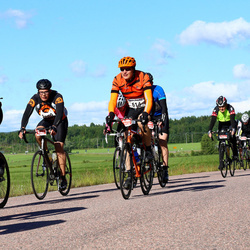 Vätternrundan - Per Hansson (614), Kurt Paulsson (7445), Albin Thorsell (9260)