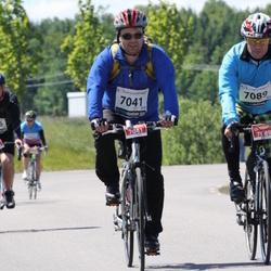 Vätternrundan - Jari Vetelainen (7041), Markku Nukari (7089)