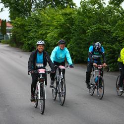 Vätternrundan - Andreas Ekström (3308), Juha Kamppinen (3309), Camilla Wallin (3310), Catharina Andree (3311)