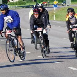 Vätternrundan - Alexander Flemming (3522), Birgit Zimmermann (3525), David Högberg (6332)