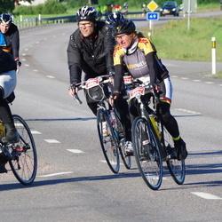 Vätternrundan - Alexander Flemming (3522), Birgit Zimmermann (3525), Anders Truedsson (4905)