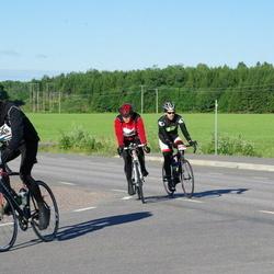 Vätternrundan - Anders Klaar (3088), Annicka Svensson (3089), Mattias Hardeström (5042)