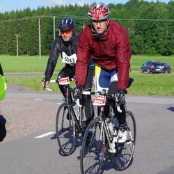 Vätternrundan - Jens Venge (6043), Edson Votri (8994)