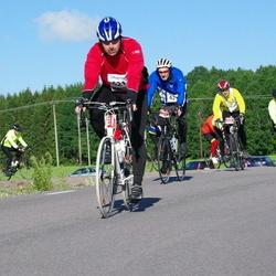 Vätternrundan - Svante Berglund (6213), Daniel Borg (6217), Andreas Karström (7473)