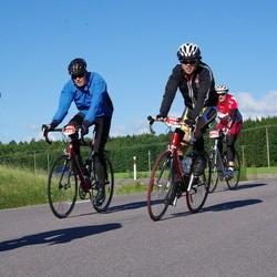 Vätternrundan - Mats Andersson (3405), Christian Wang (5140), Kristians Mikelsons (6657)