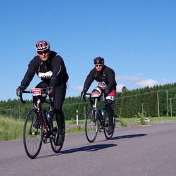 Vätternrundan - Daniel Larsson (4979), Simon Fredriksson (4980)