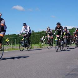 Vätternrundan - Pär Eriksson (9638), Bo Sommesjö (9642), Krister Wiberg (9648)