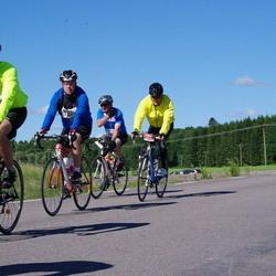 Vätternrundan - Mats Johansson (6765), Jonas Beckman (7220), Christian Johansson (7221)