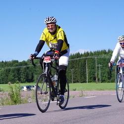 Vätternrundan - Horst Bogdanski (5745), Lise-Lotte Endstrasser (5746)