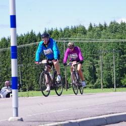 Vätternrundan - Johan Klaar (3713), Agnes Nilsson (3714)