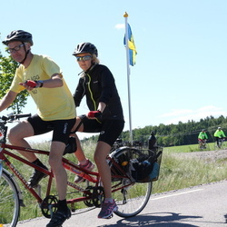 Vätternrundan - Alicia Henriksson (3065), Morgan Henriksson (3066)