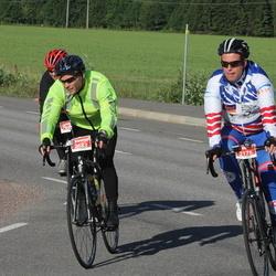 Vätternrundan - Thomas Thoenbakken (2176), Bente Eriksen Sund (2187), Fredrik Kalén (2683)