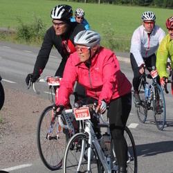 Vätternrundan - Ronny Lindquist (420), Veronica Larsson (2579), Jimmy Oskarsson (7809)