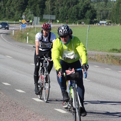 Vätternrundan - Ajse Sandqvist (10038), Uno Nilsson (10082)