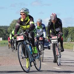 Vätternrundan - Åke Lund (811), Carl-Gunnar Fagerholm (815), Marina Lindenström (904)