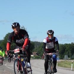 Vätternrundan - Emelie Johansson (6995), Oscar Svensson (7162)