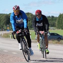 Vätternrundan - Cermith Lunde (8618), Fredrik Lunde (8619)