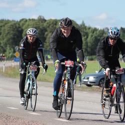 Vätternrundan - Fredrik Magnusson (6520), Magnus Nilsson (6521), Håkan Brorsson (10017)